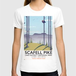 Scafell Pike Lake District National Park T-shirt