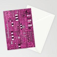 Pink vintage random ramblings. Stationery Cards