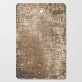 Cement Weathered Brown Abstract Photograph Cutting Board
