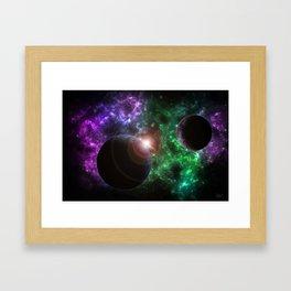 The Kenzie Nebula Framed Art Print