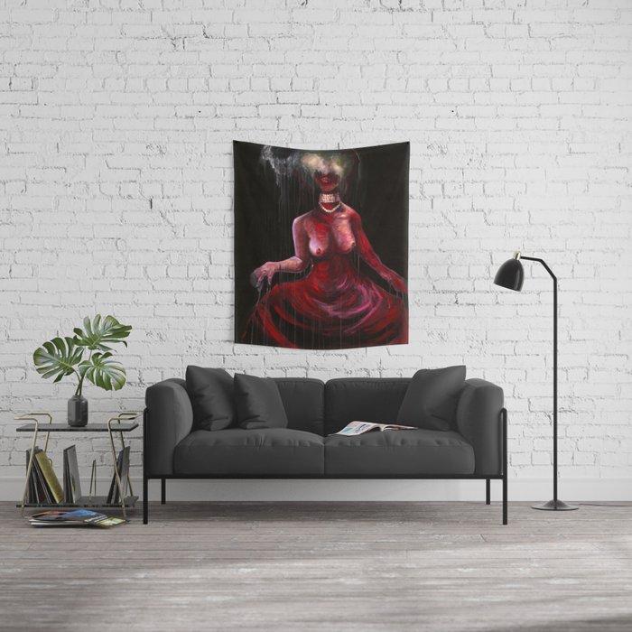Blood Dress Wall Tapestry
