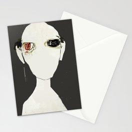« le roi se meurt »  des mots de jean leloup Stationery Cards