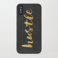 neon genesis evangelion iPhone & iPod Cases featuring Hustle by Text Guy