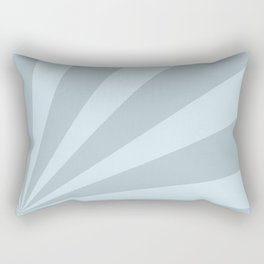 Retro sunburst style abstract background Rectangular Pillow