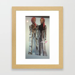 New Mara Autographed Print and shirt  Framed Art Print