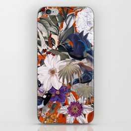 Floral and Birds XXVI iPhone Skin