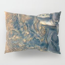 Surface of Jupiter Atmosphere Telescopic Photograph Pillow Sham