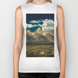 Mountain Summer Escape Biker Tank