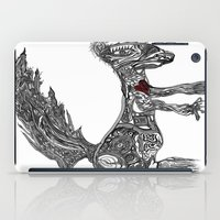 greg guillemin iPad Cases featuring Squirrel by Greg Phillips by SquirrelSix