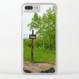 Looking For A Trail Clear iPhone Case
