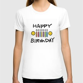 Jeep 'HAPPY BIRthDAY' White T-shirt
