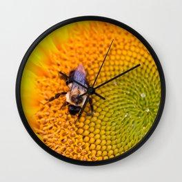 Busy Bees Wall Clock