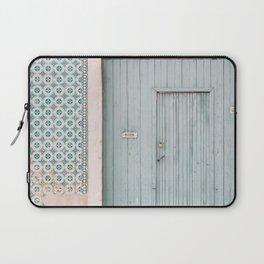 The mint door Laptop Sleeve