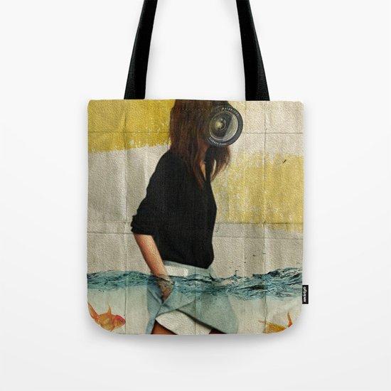 Deep Water Running Tote Bag