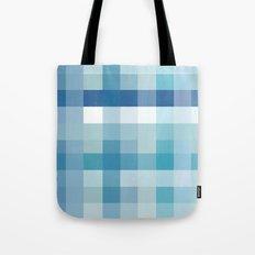 Pixelate Ocean Tote Bag