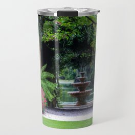 Focal Point In The Garden Travel Mug
