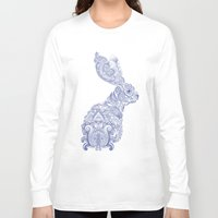 henna Long Sleeve T-shirts featuring Henna Rabbit by Dezi