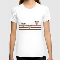 chocolate T-shirts featuring Chocolate by wemma