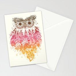 Orange Dream Catcher Stationery Cards