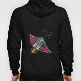 Colorful Stingray Hoody