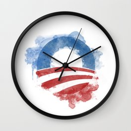 Artists for Obama Wall Clock