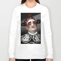 actor Long Sleeve T-shirts featuring Chinese opera (Actor Portrait). by Ian Gledhill
