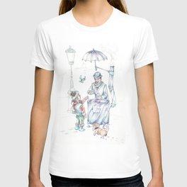 The chesnut-man T-shirt