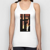 cityscape Tank Tops featuring Sunrise Cityscape by Andrew Formosa