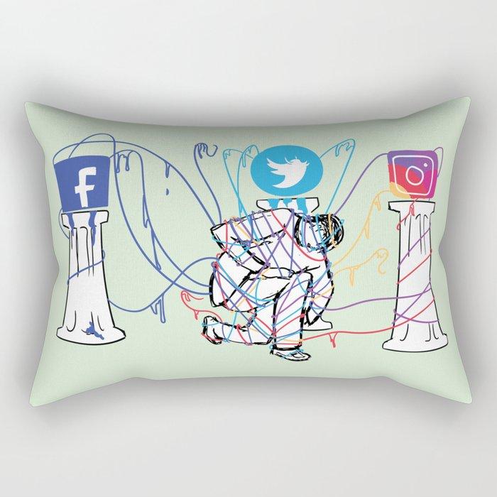 Idle Idols Rectangular Pillow