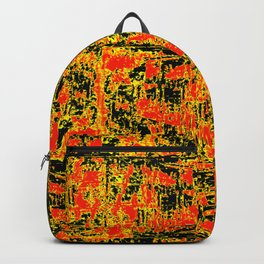 Golden Red Backpack