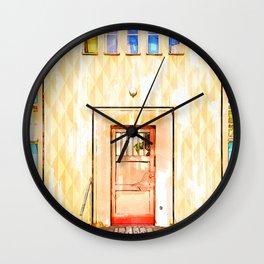 Door In Berlin Germany - For Doors & Travel Lovers Wall Clock