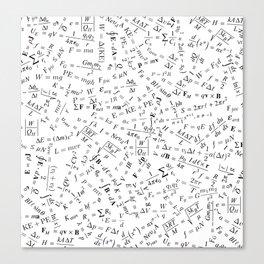 Equation Overload II Canvas Print