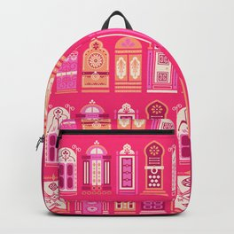 Moroccan Doors – Pink Palette Backpack