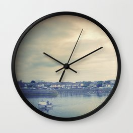 Afternoon in Galway Bay Wall Clock