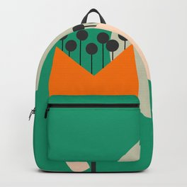 Flowers on a hill Backpack