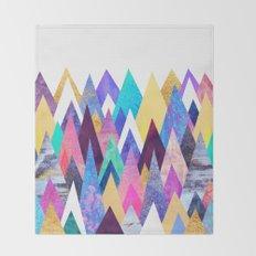Enchanted Mountains Throw Blanket