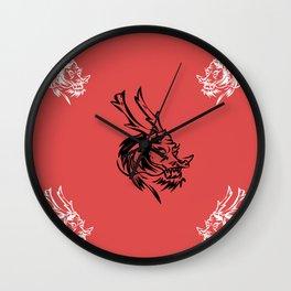 kunf fu dragon martial arts picture chenesse Wall Clock