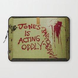 Jones acting oddly Laptop Sleeve