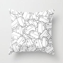 CASTLES! Throw Pillow
