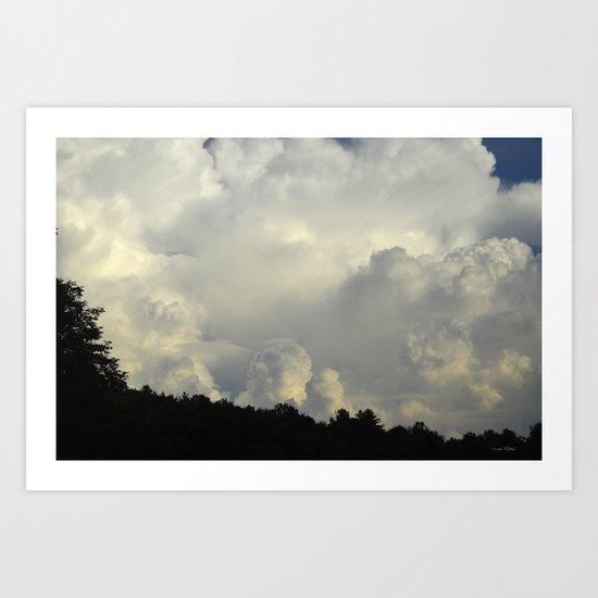 White Cloudscape by debracortesedesigns