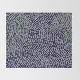 Shagreen Indigreen Throw Blanket