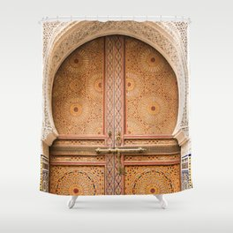 Ornate - Fes, Morocco Shower Curtain