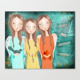 The Strength of Sisters Canvas Print