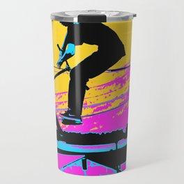 Free Falling - Stunt Scooter Rider Travel Mug