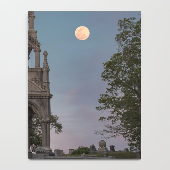 Cemetery Monument Notebook