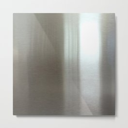 Industrial Brushed Stainless Metal Print