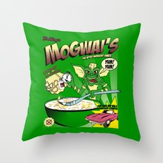 Mogwai's Breakfast the after midnight snak Throw Pillow