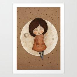 Moon Song 3 Art Print