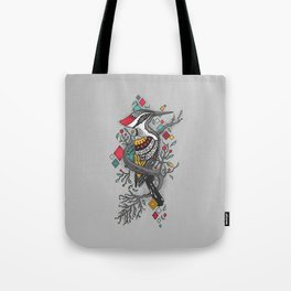 """""""THE WOODPECKER FOREST """" Tote Bag"""