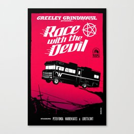 Race with the Devil Canvas Print